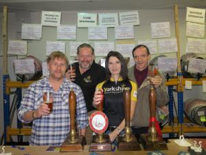 Bingley Brewery and Kathryn
